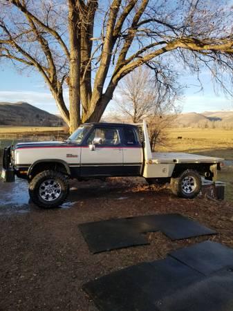Dodge Flatbed For Sale : dodge, flatbed, Dodge, Cummins, Dually, ZeMotor