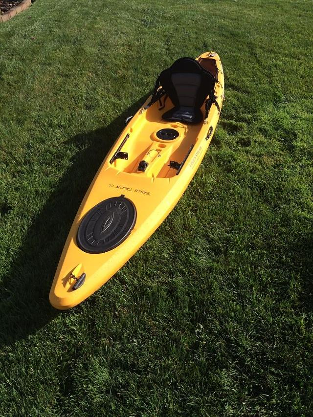 Eagle Talon Kayak : eagle, talon, kayak, 0,, Field, Stream, Eagle, Talon, Fishing, Kayak, Sports, Goods, Inland, Empire,, Shoppok