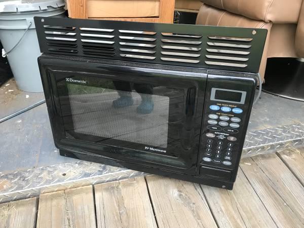 dometic rv built in microwave in like
