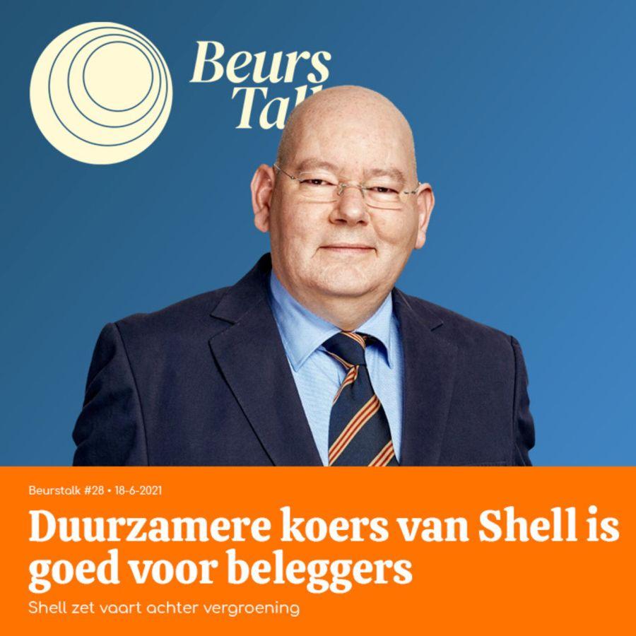 Duurzamere koers van Shell is goed voor beleggers