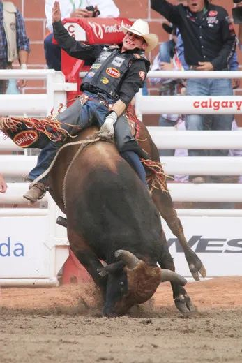 Chase Outlaw Tops Bulls Standings At Calgary Stampede