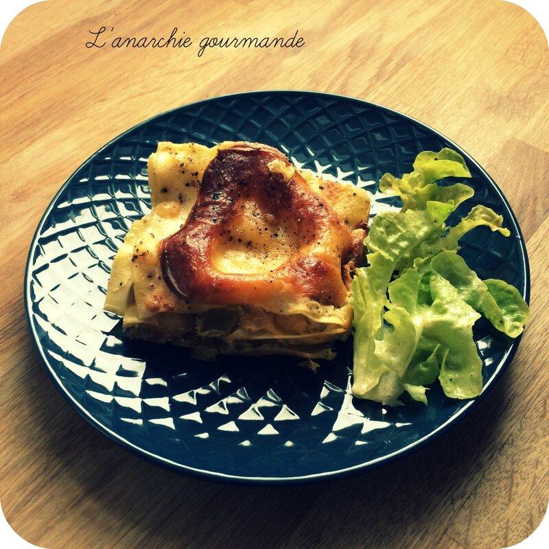 Lasagne pancetta poireau - pic