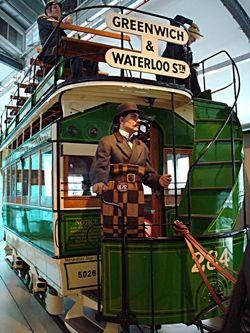 Horse drawn omnibus, London Transport Museum