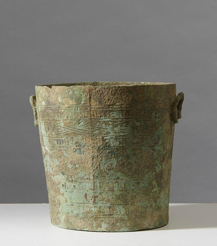 Situle, thạp, Vietnam, Culture de Đông Sơn, ca 500 BCE-100 BCE