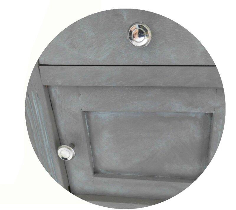 zoom chevet zinc rond