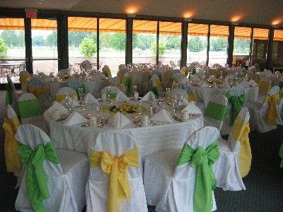 Ambiance jaune et verte pour votre mariage  Sofies Events