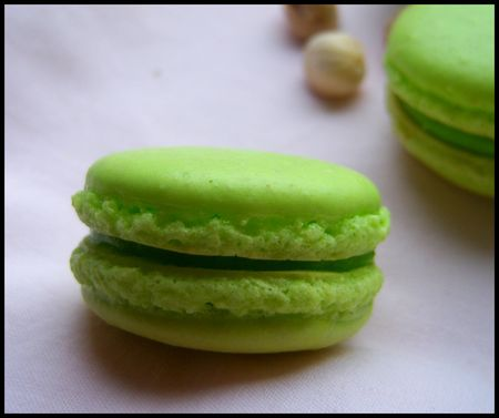 49878038 p Macarons à la pistache : divine tentation