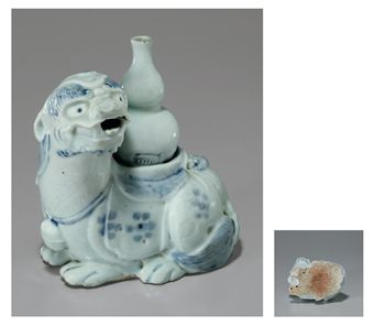 a_large_blue_and_white_porcelain_water_dropper_in_the_form_of_a_mythic_d5347214h