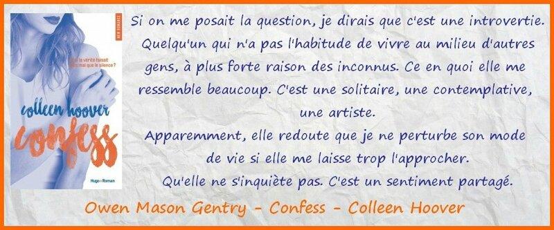 Extrait Confess