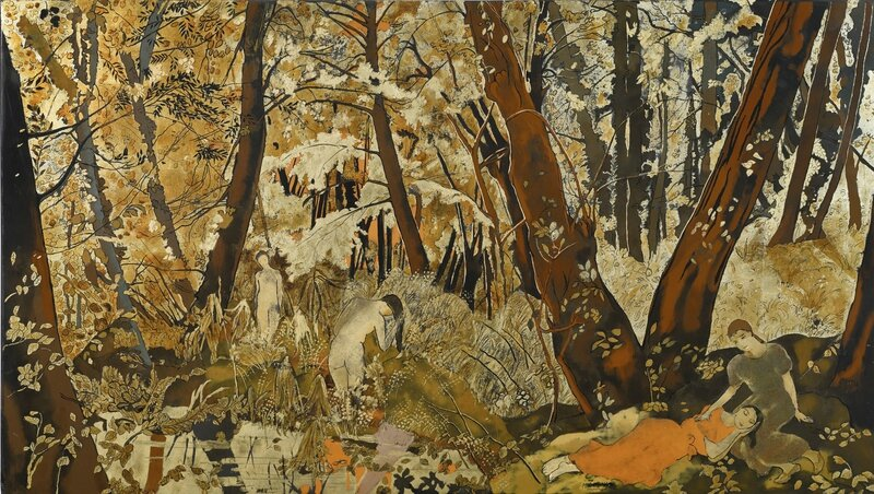 Alix Aymé (1894 - 1989), Forêt tropicale (Tropical Forest), circa mid-1940s