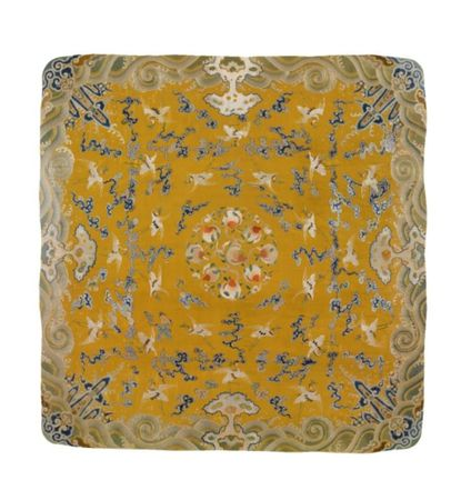 A_FINE_IMPERIAL_YELLOW_GROUND_SILK_THRONE_CUSHION_COVER