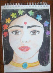 Saraswati_en_fleurs