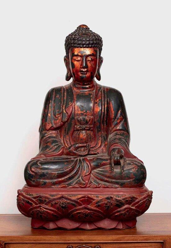 Buddha, Vietnam, dynastie des Lê, 18°siècle