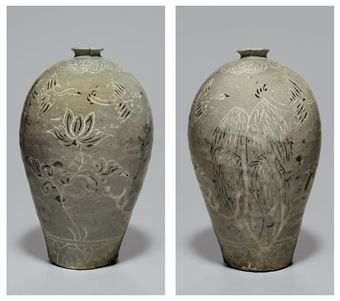 an_incised_celadon_stoneware_maebyeong_goryeo_dynasty_d5347207h
