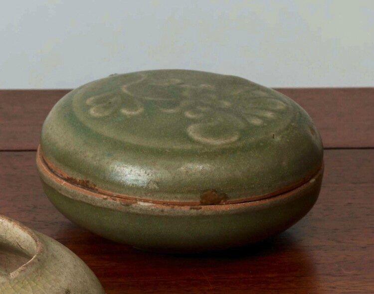 Boîte à couvercle, Vietnam, dynastie des Lê, 15-16°siècles