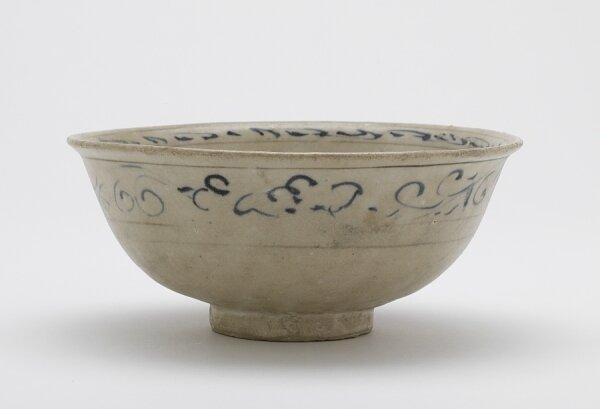 Bowl, Vietnam, Trần or Later Lê dynasty, 14th-15th century