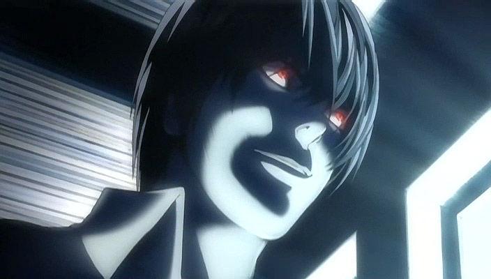 Kira deathnote anime vrai visage