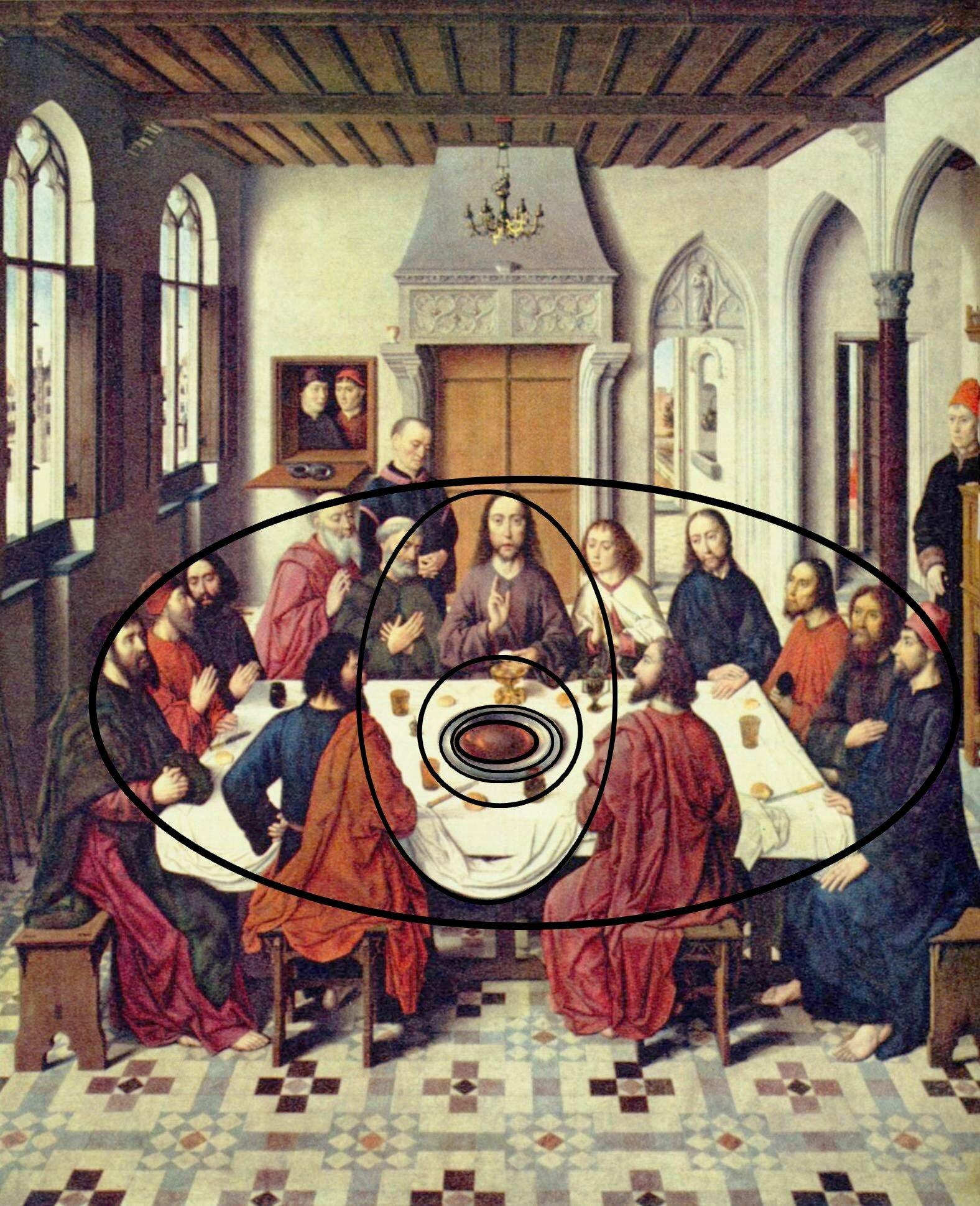 La Cene De Leonard De Vinci : leonard, vinci, Divinité, BOUTS, L'humanité, LEONARD, VINCI, ARTGITATO