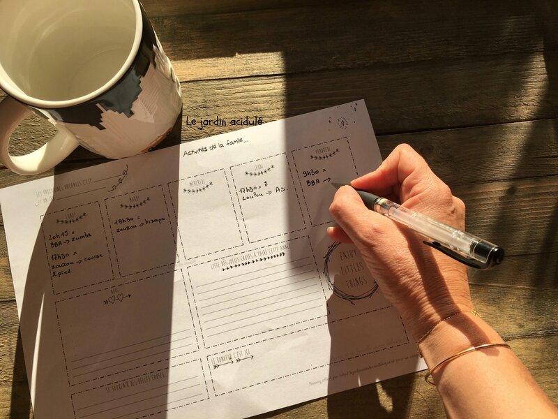 Planning N°3