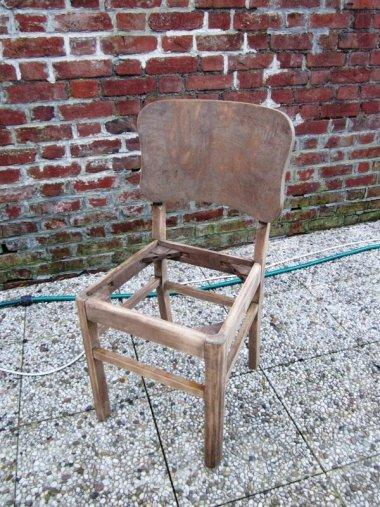 chaise poncée