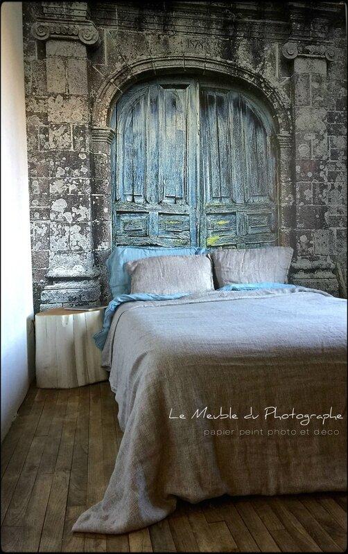 Papier peint avec mes photos la chambre  Barbatruc et rcup