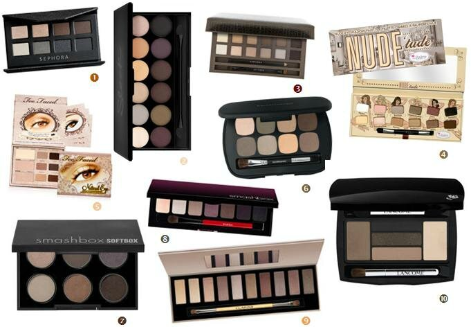 Mlle Delicieuse 10 Palettes Nudes