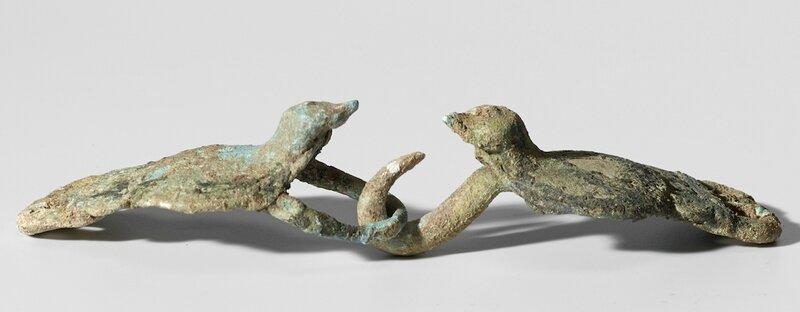 Boucle de ceinture, Vietnam, Culture de Gò Mun, 1100 BCE – 500 BCE