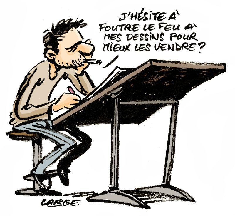 Large Charlie Hebdo