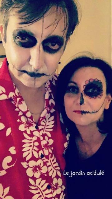 make up halloween 1