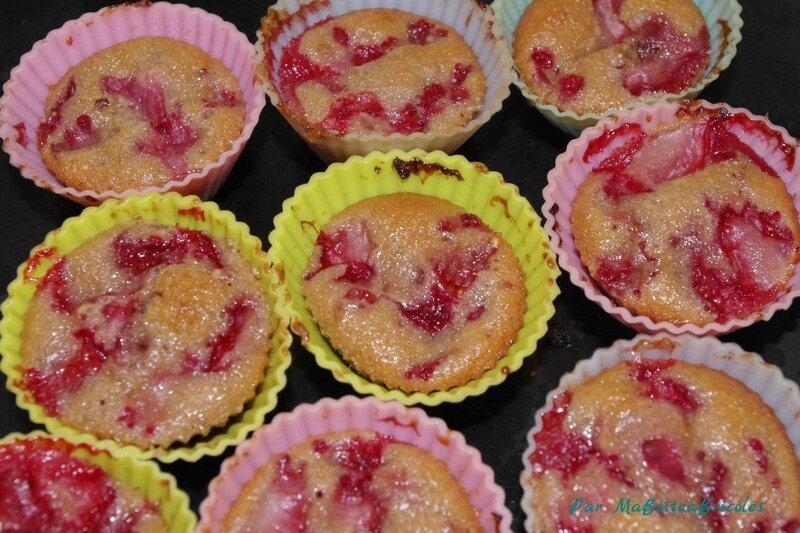 Muffins Fraises - MaBoîteàBricoles (8)