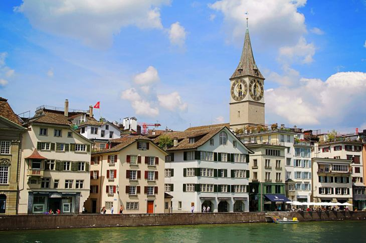 Conociendo 🌎 Iglesia de San Pedro en Zurich - Atracciones ...