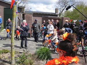 Feestelijke Koningsdag in Den Helder