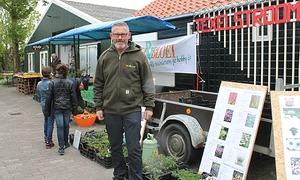 Frisse stekkenmarkt bij Texelstroom