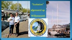 Ecolution afgemeerd  in Den Helder