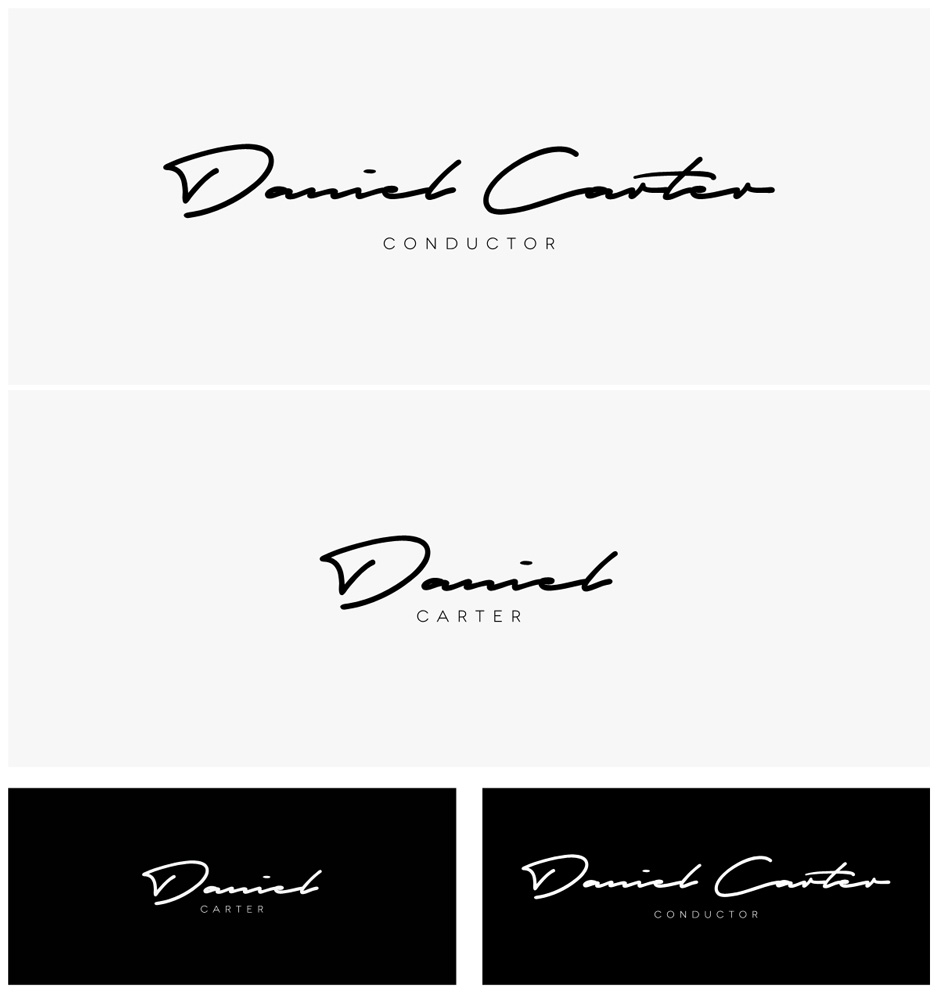 Logo Design by D4Designer for Personal Branding Logo for Classical Musician - Design #6439916