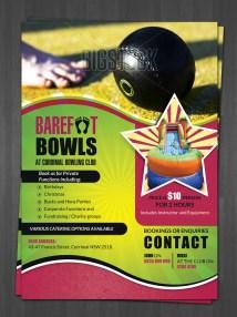 Bowling Club Flyer