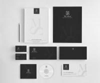 Elegant, Serious Stationery Design design for Hesham Abu ...