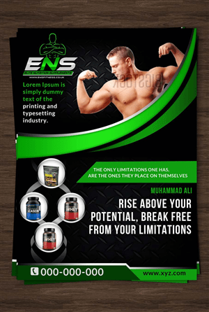 Health Product Flyers Health Product Flyer Design At