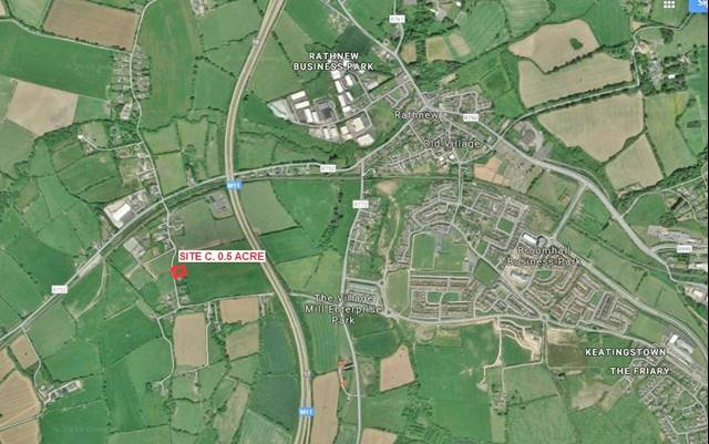 Site Subject To Planning, Milltown Lane, Rathnew, Co. Wicklow