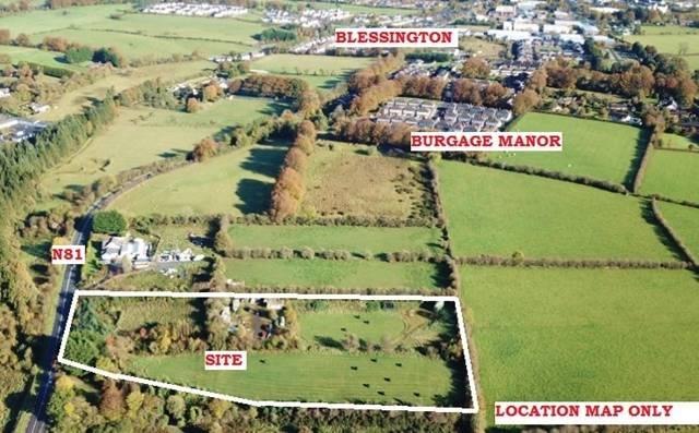 Yard On C. 4.4 Acres / 1.81 Ha, Burgage Moyle, Blessington, Co. Wicklow