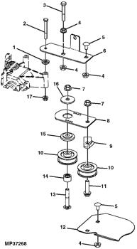John Deere Js40 Parts : deere, parts, MOWER,, WALK-BEHIND, MOWER, Deere, GX22262, Online, AVS.Parts