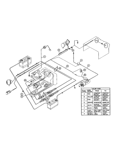 Ford 4000 Tractor Wiring Diagram Free For Your Needs