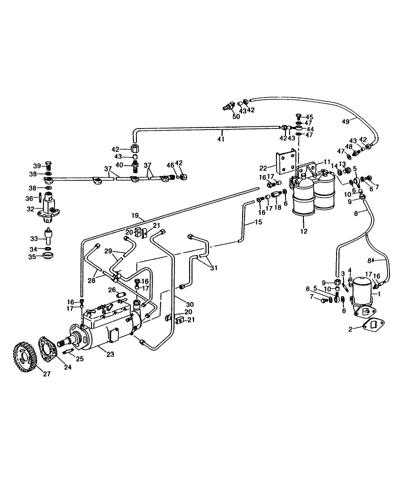Perkins Diesel Fuel System Diagram : perkins, diesel, system, diagram, 236CIDNH), PERKINS, 4.236, DIESEL, ENGINE, (1/02-12/02), (008), SYSTEM,, Holland, Agriculture