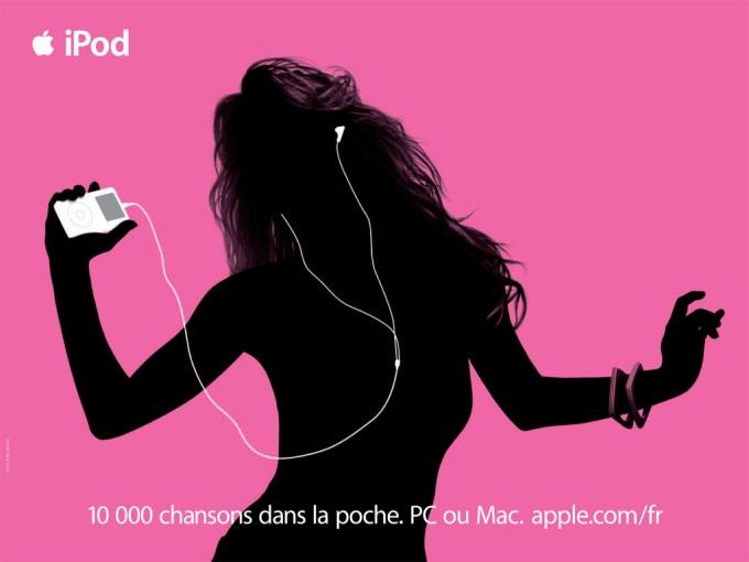 「iPod  ads」の画像検索結果