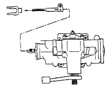 716805 : Jeep 1942-1970 Manual Steering Kit (Borgeson