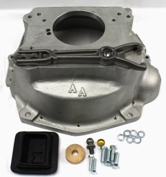 712571 jeep amc 6 cyl v8 to the gm sm465 1993 95 gm nv4500 truck 4 speed adapter bellhousing kit 712571  [ 1000 x 1000 Pixel ]