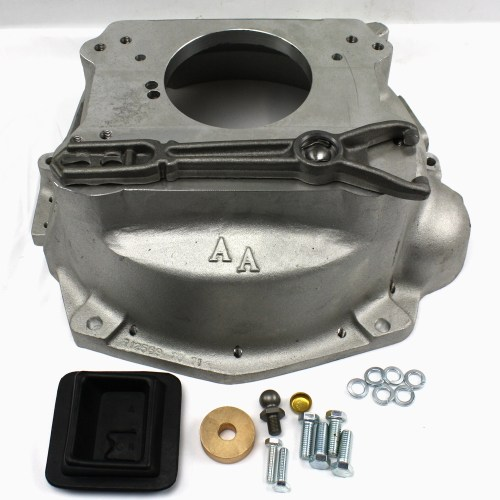 small resolution of 712571 jeep amc 6 cyl v8 to the gm sm465 1993 95 gm nv4500 truck 4 speed adapter bellhousing kit 712571