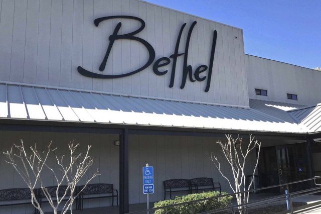 FILE - This March 2020, file photo shows the Bethel Church in Redding, Calif. The number of cases linked to an evangelical college in Northern California have doubled in the last week to 274 as the school attracts attention on social media for a video by a church leader criticizing masks as