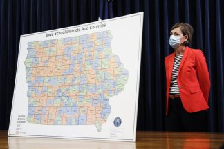 Teachers rebel and experts call scientific benchmarks used by Iowa state to reopen schools arbitrary and unsafe