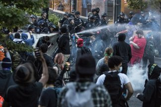 Downtown storefront smashed in Seattle as protests erupt all over the country